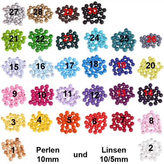 50 Linsen 10/5mm