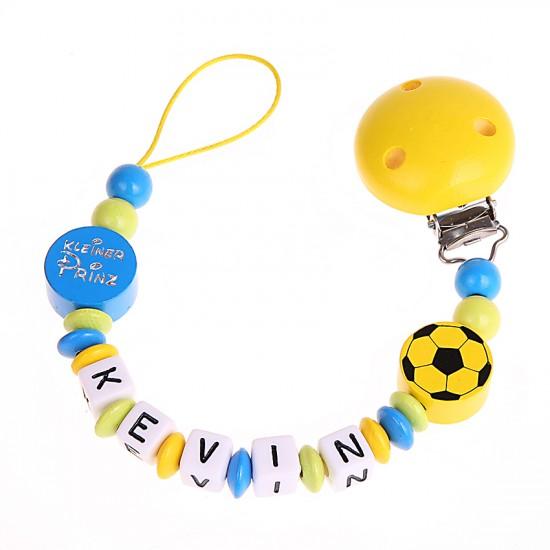 Schnullerkette Fußball und Kleiner Prinz